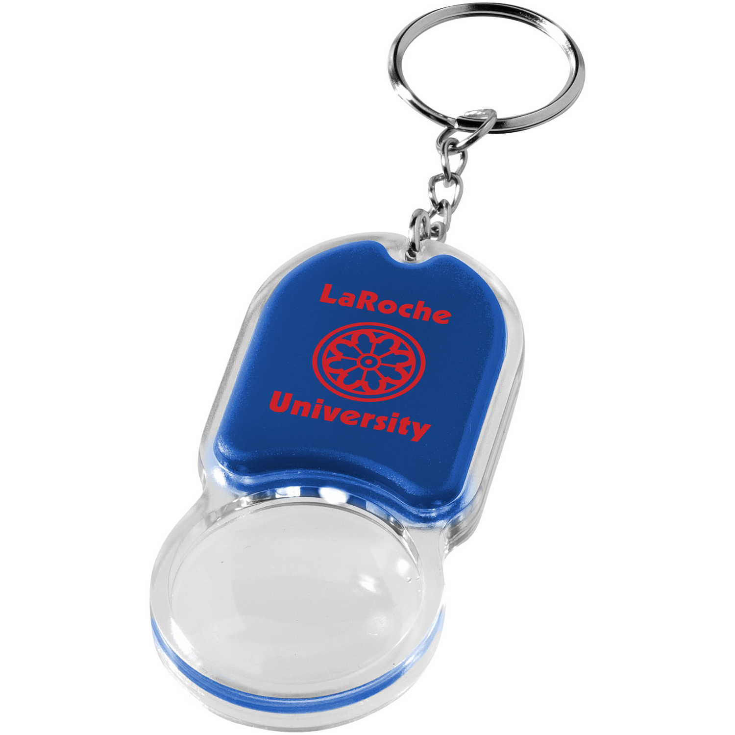 Zoomy Magnifier Keychain Light