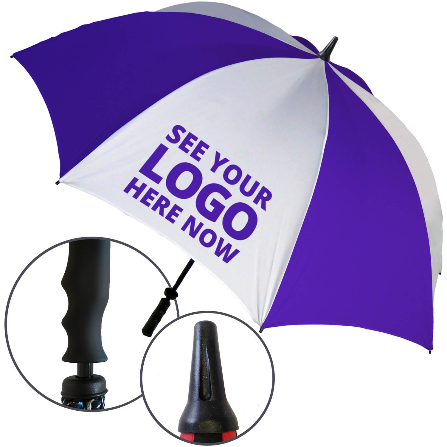 Storm Proof Golf Promotional Umbrella