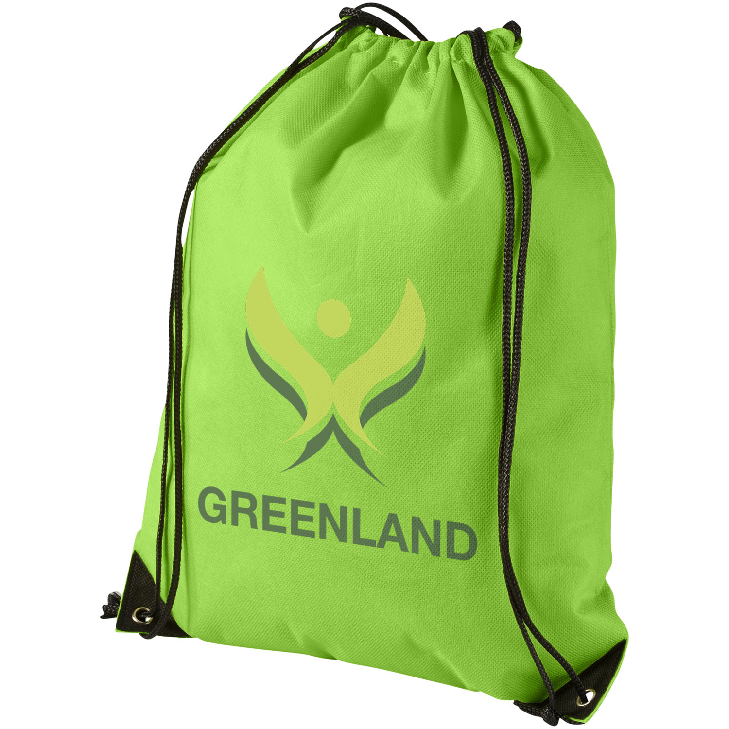 Evergreen Non-Woven Drawstring Backpack