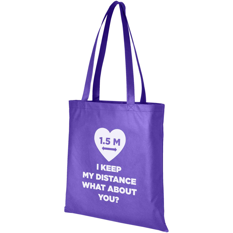 Zeus Large Non-Woven Convention Tote Bag