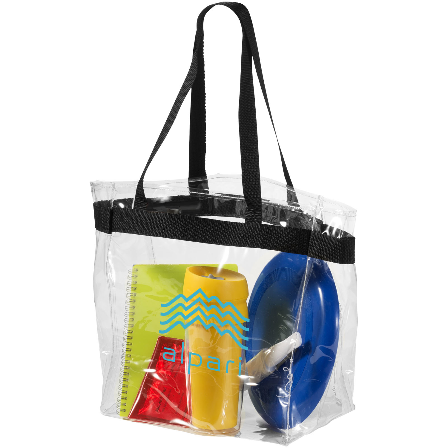 Hampton Transparent Tote Bag