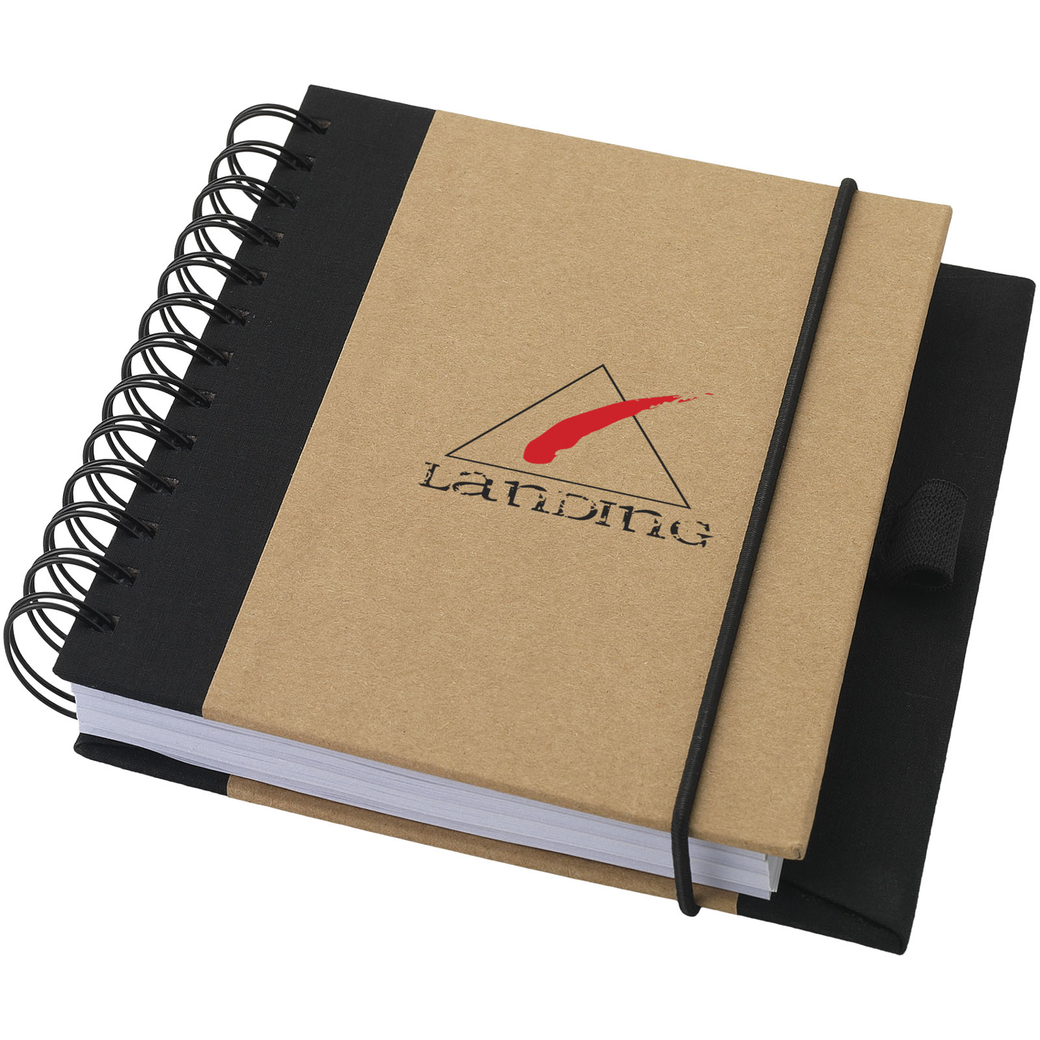 Evolution Recycled Notebook