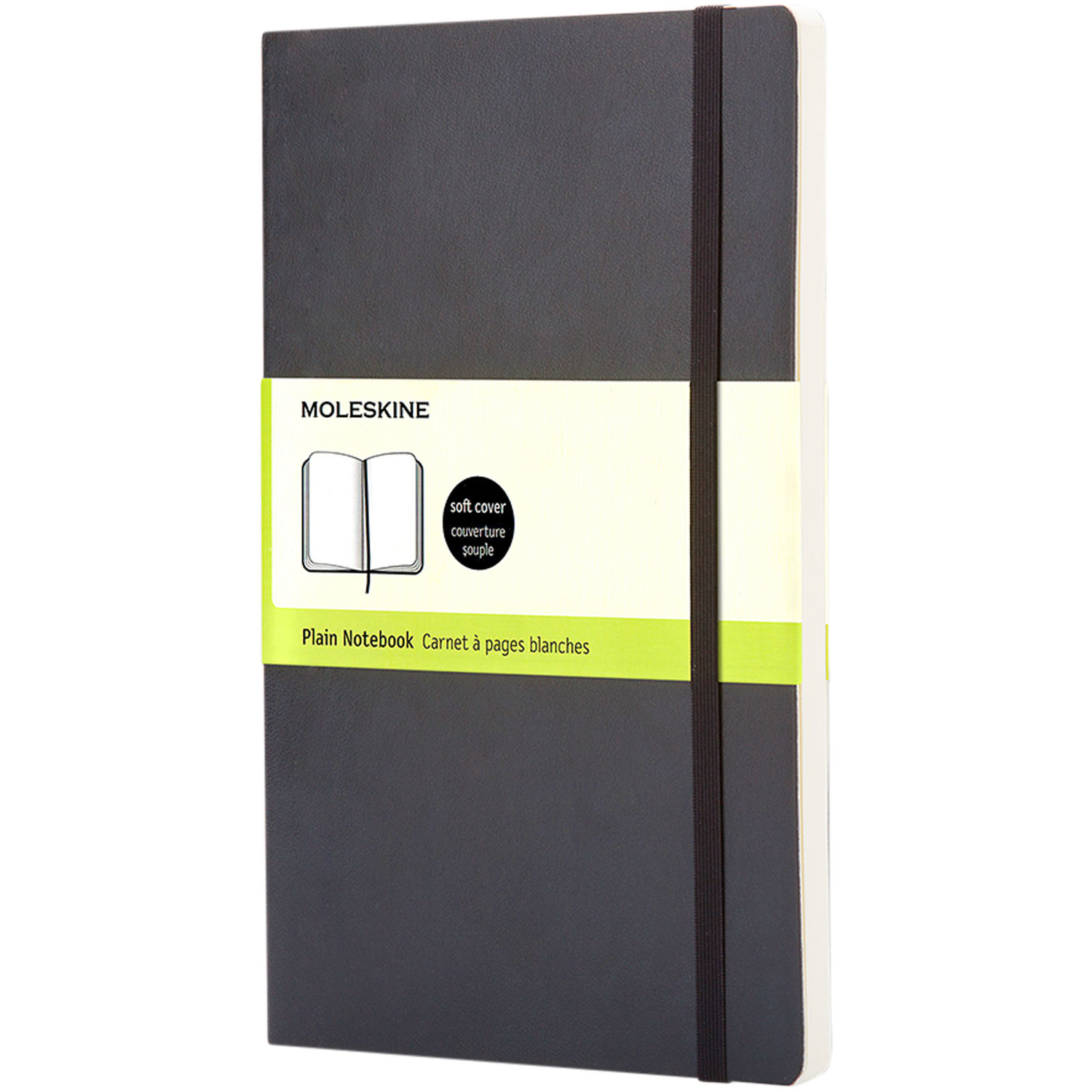 Classic Pk Soft Cover Notebook - Plain