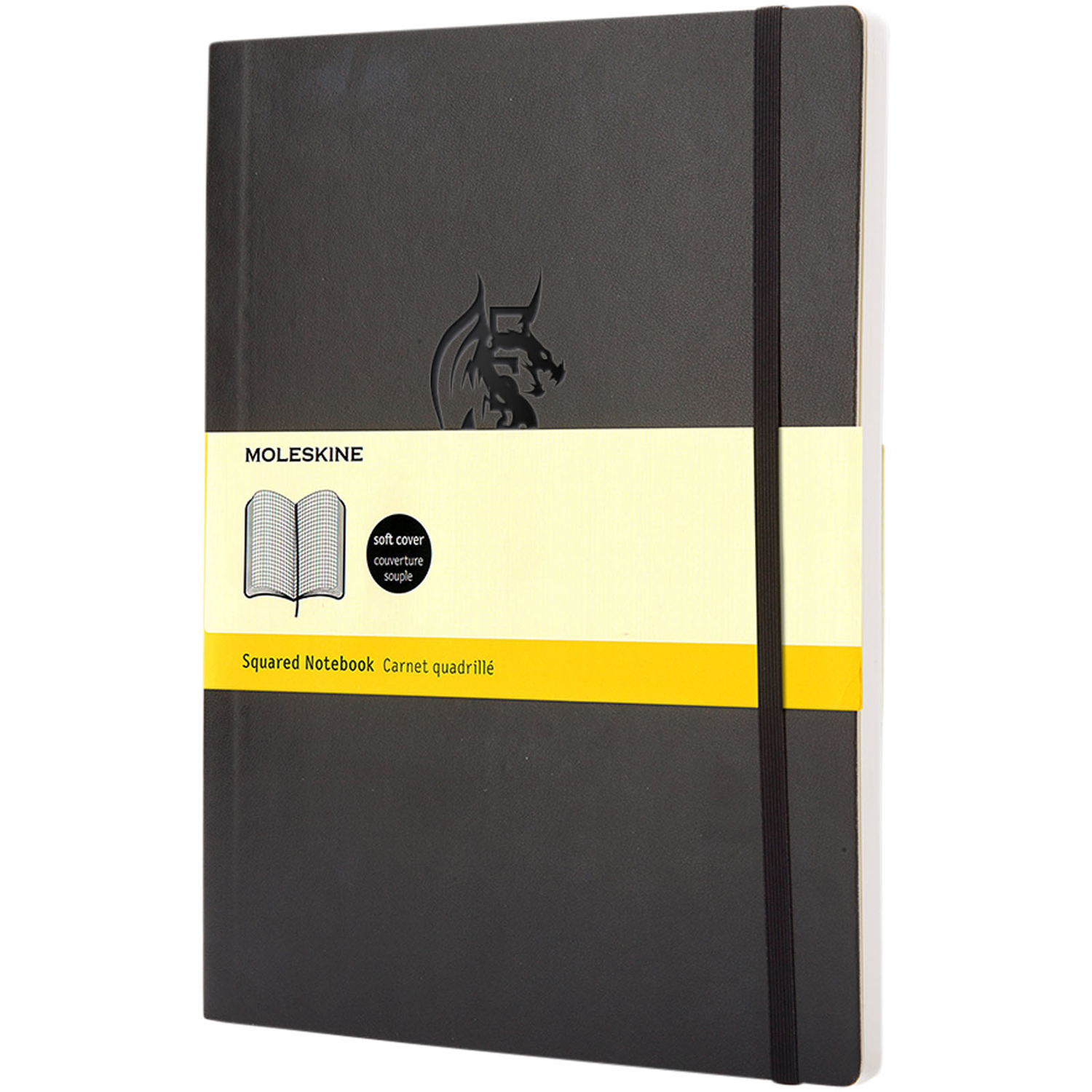 Classic XL Soft Cover Notebook - Squared