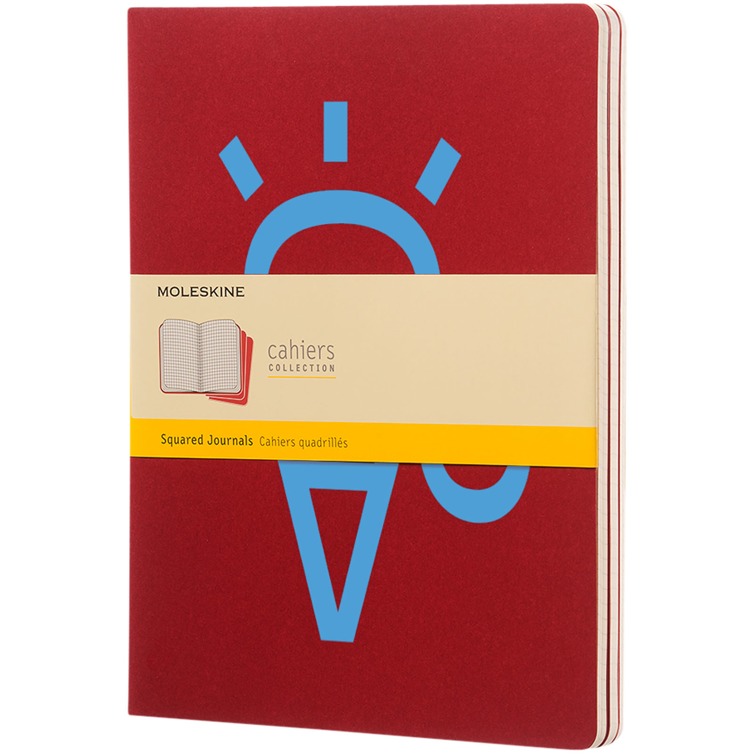 Cahier Journal Xl - Squared