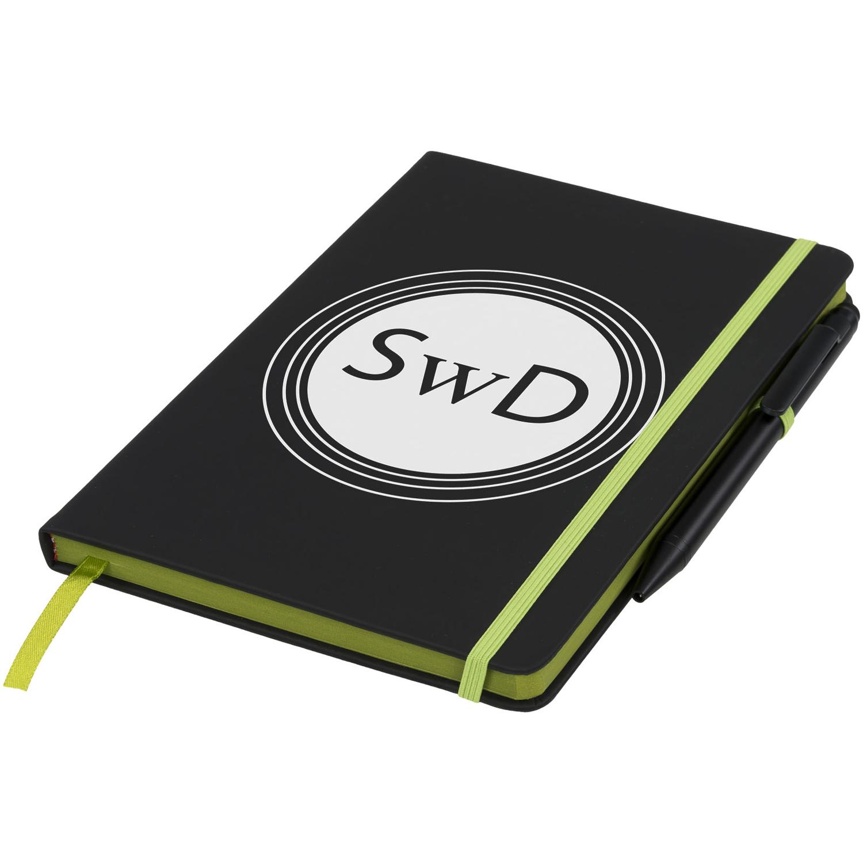 Noir Edge Medium Notebook