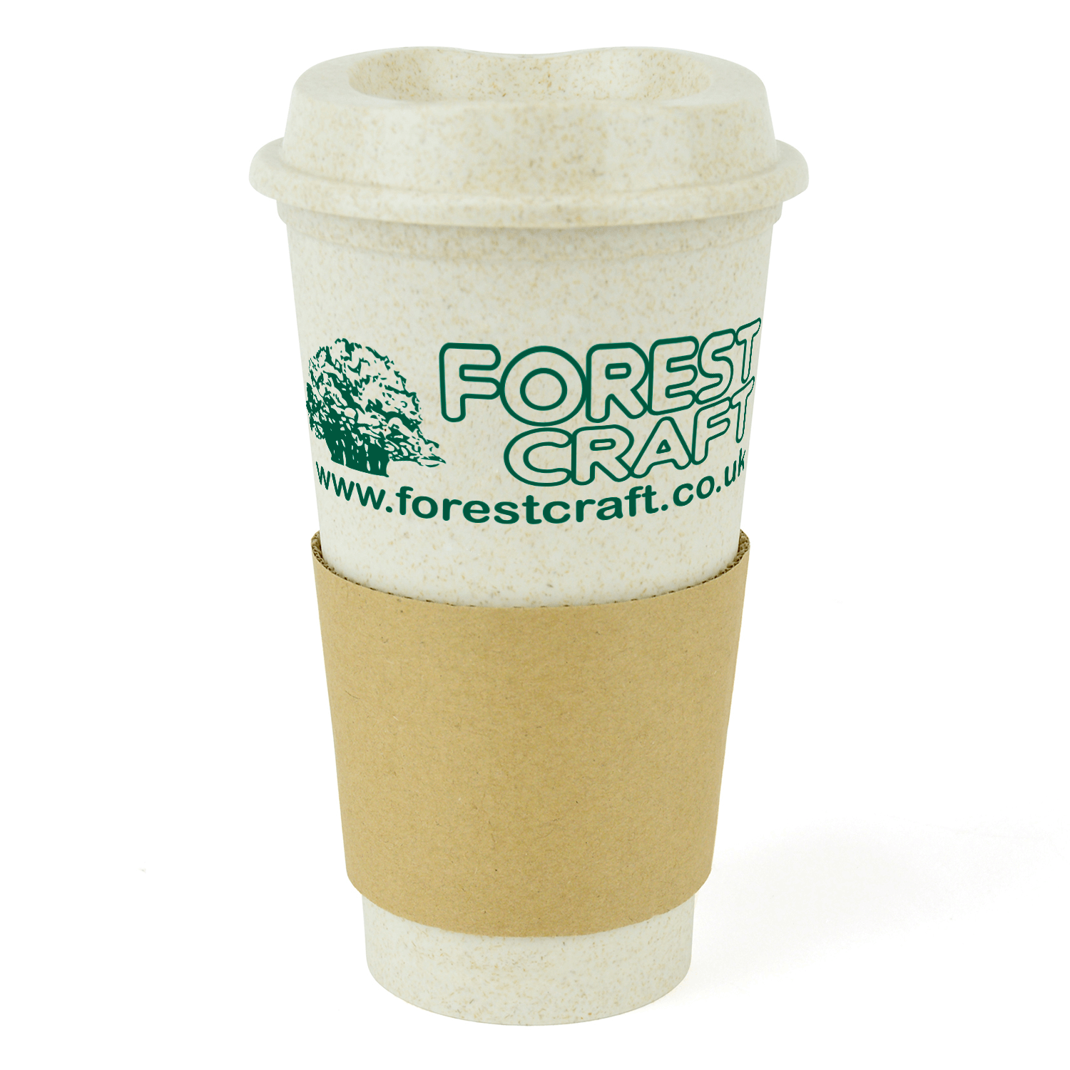 Bamboo Saver Reusable Coffee Cup With Lid