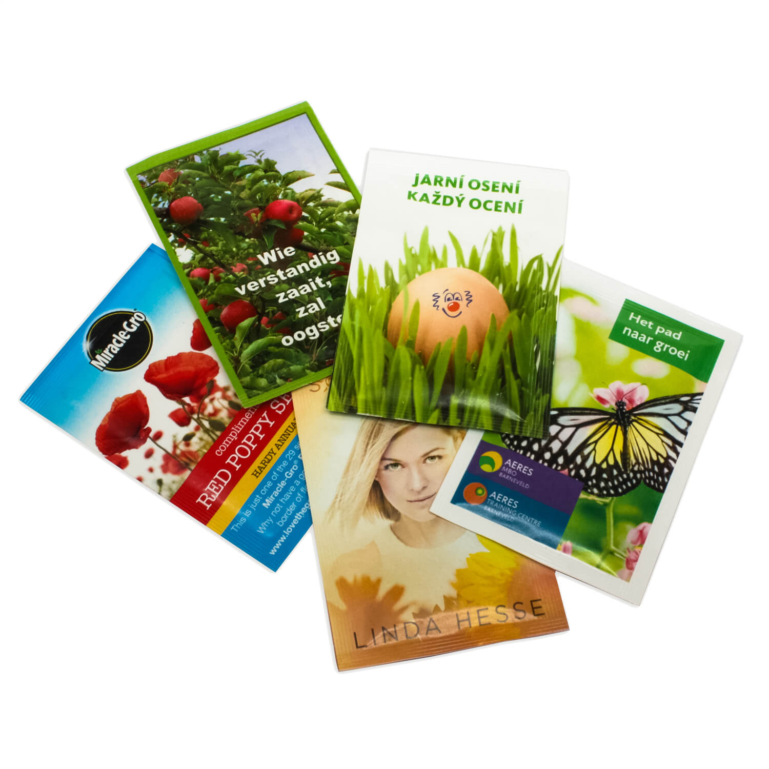 Promotional Seed Packets - Flowers