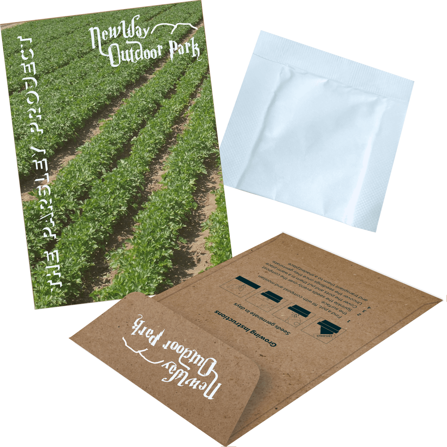 Printed Seed Envelopes - Herbs