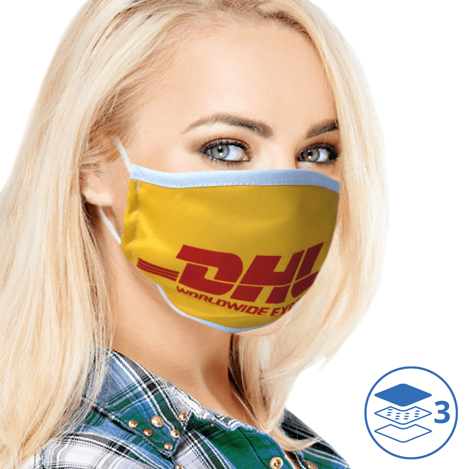 Branded Reusable Face Masks with KN95 Filter