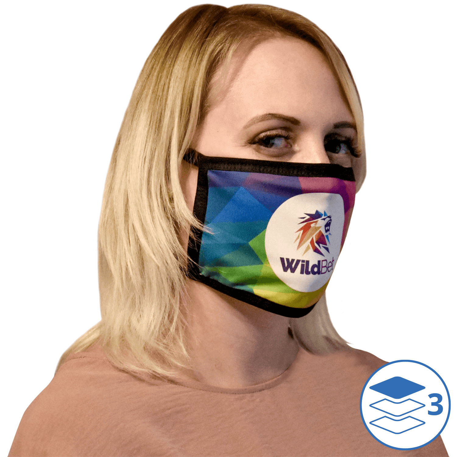 Full Colour Reusable Face Masks