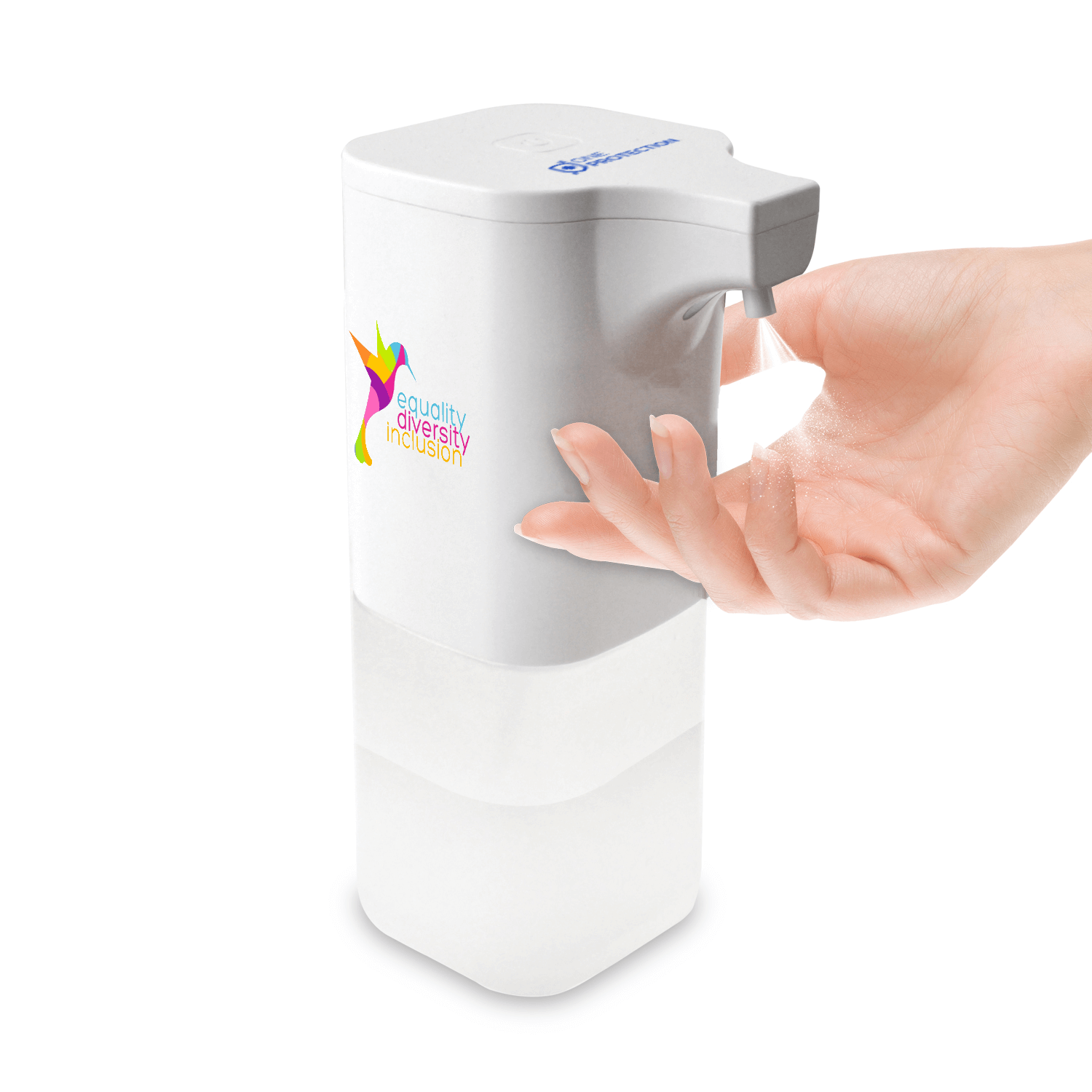 Branded Contactless Automatic Hand Sanitiser Dispensers