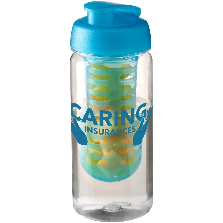 H2o Octave Tritan™ 600 Ml Flip Lid Bottle & Infuser