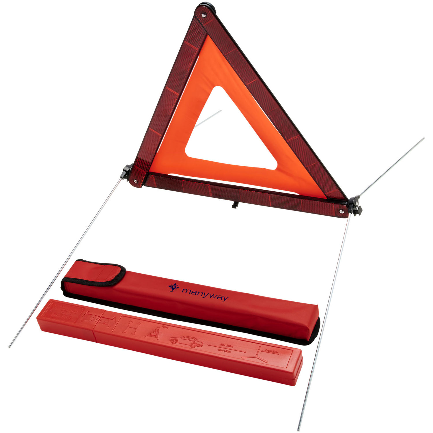Carl Safety Triangle In Storage Pouch