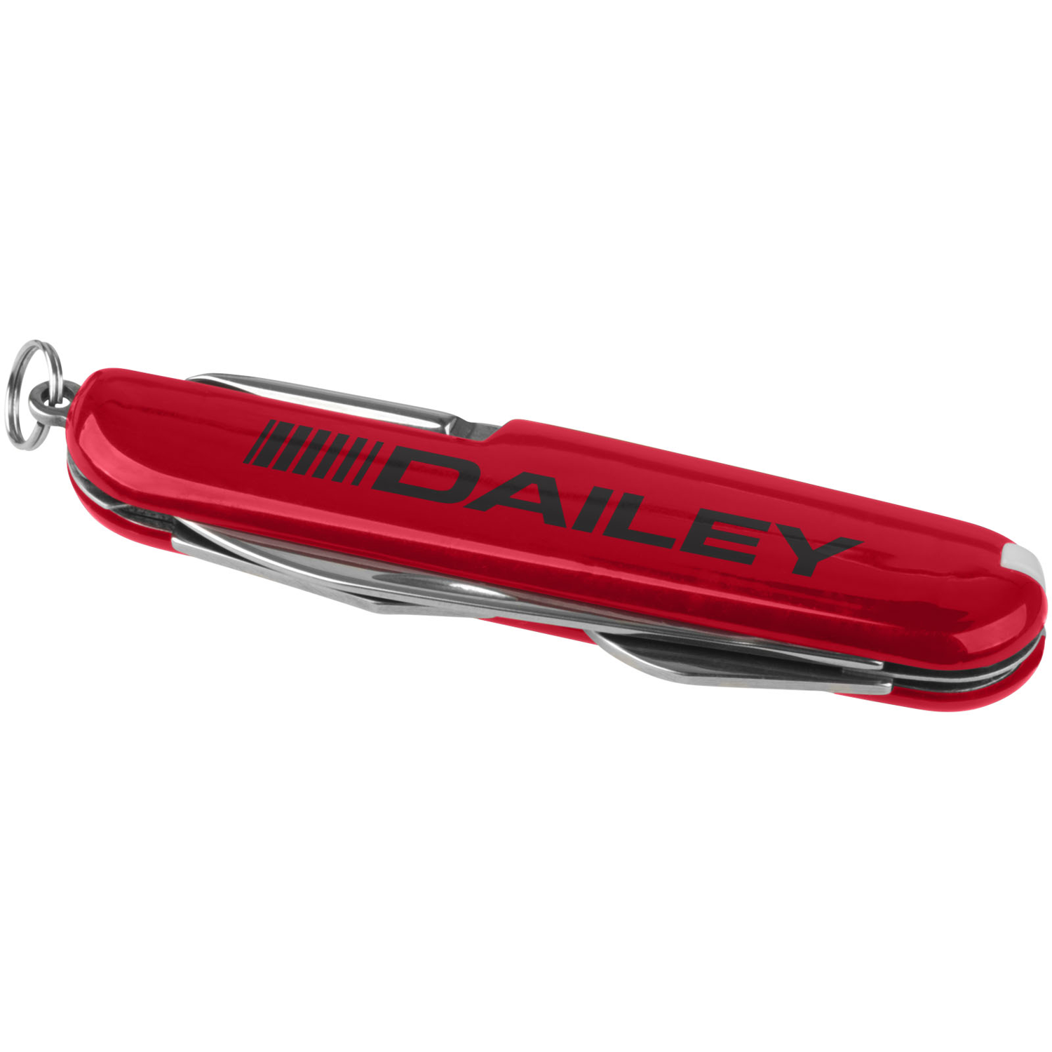 Emmy 9-Function Pocket Knife With Keychain