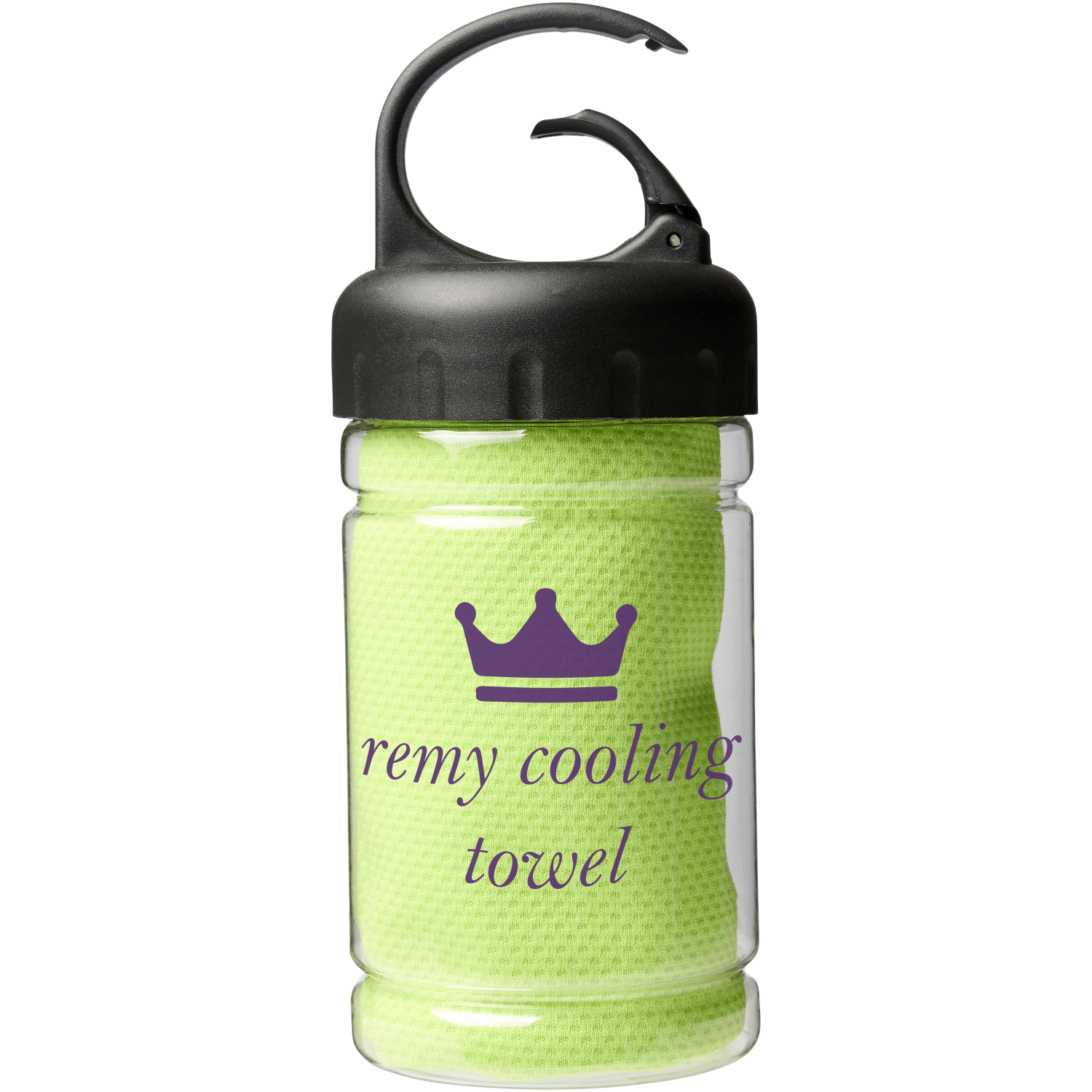 Remy Cooling Towel In PET Container