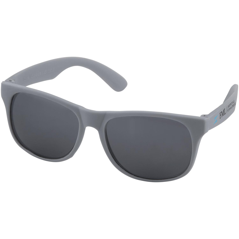 Retro Single Coloured Sunglasses