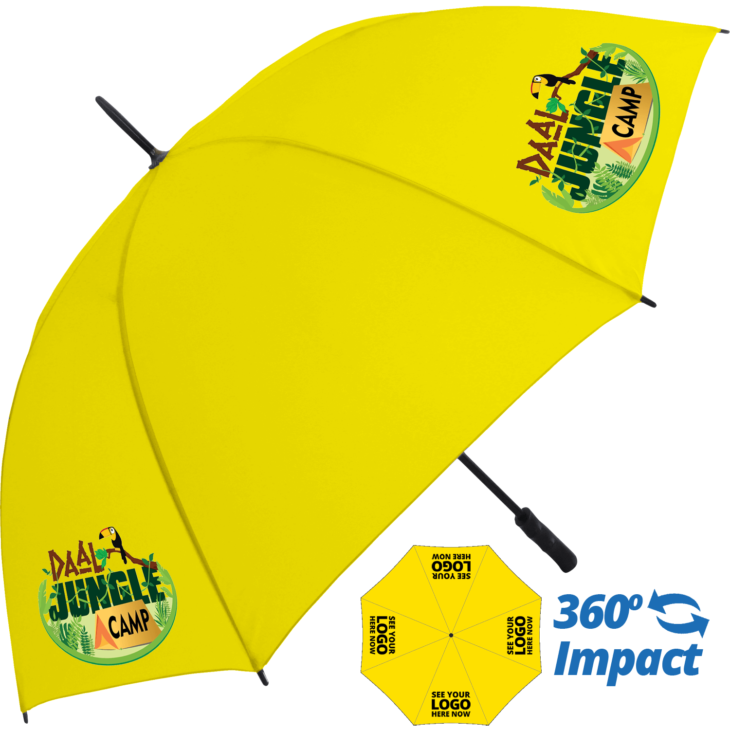 Value Storm Umbrella Full Colour - 4 Panels