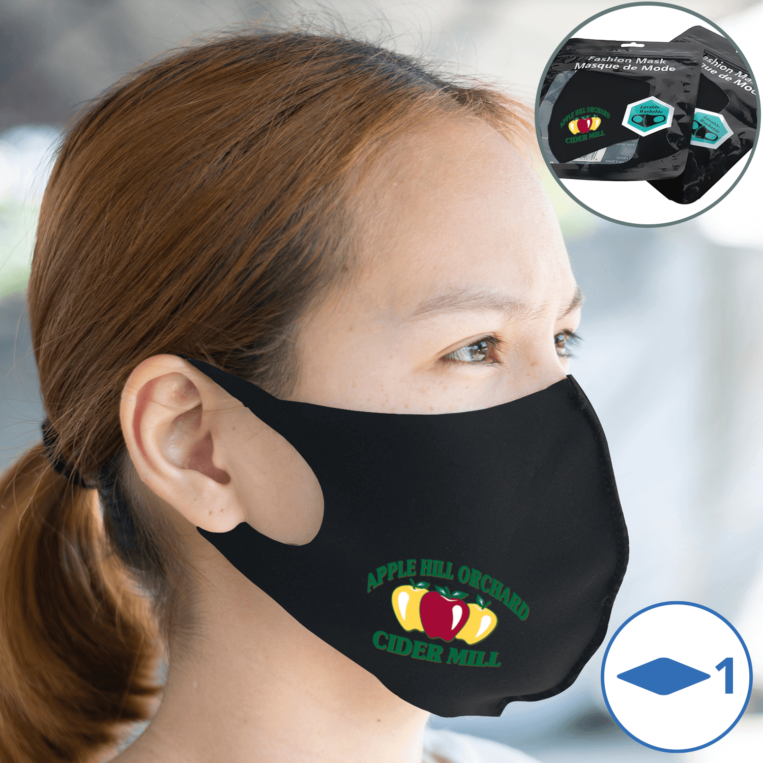 Reusable Single Layer Face Masks