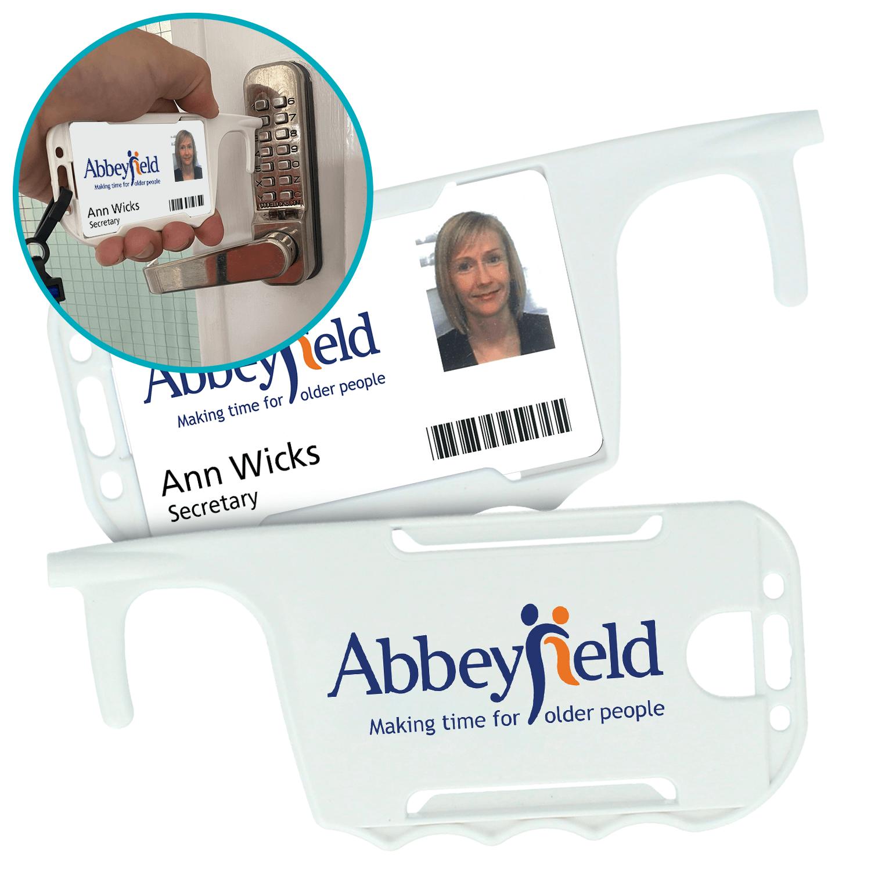 ID Card Holder Hygiene Key
