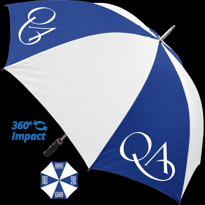 Royal Blue (7687) & White (printed on coloured panels)