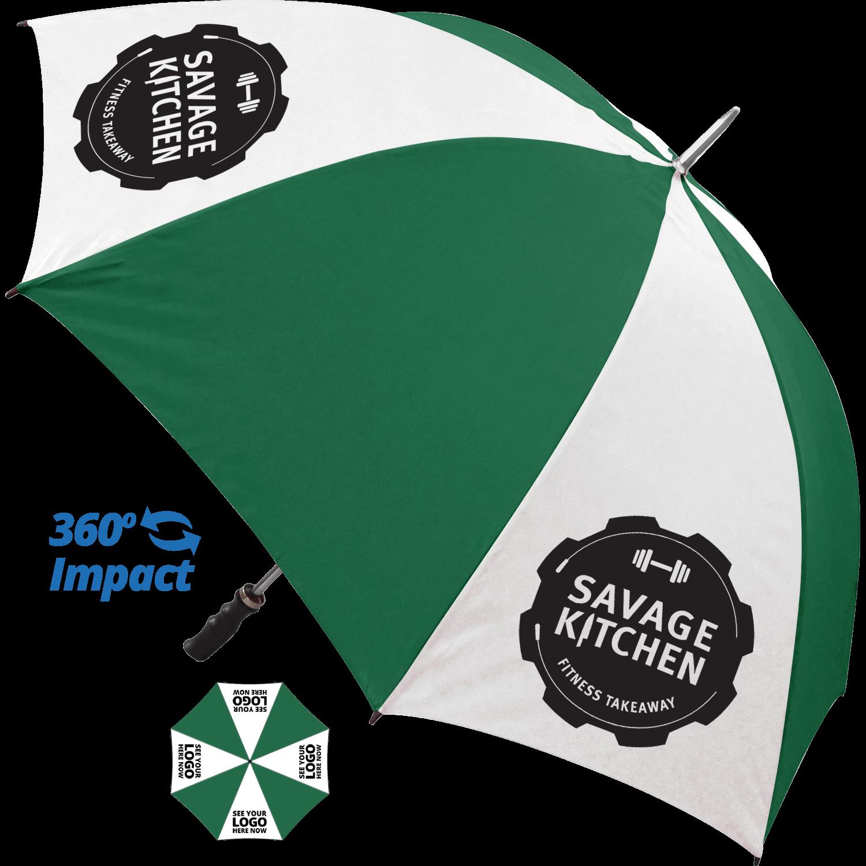 White & Emerald Green (7727) (printed on white panels)