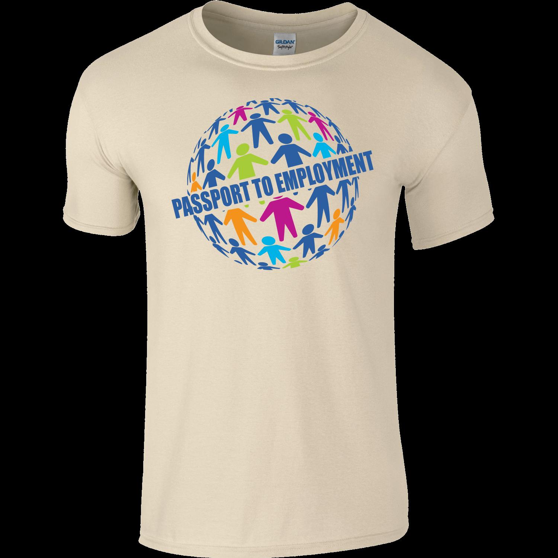 Coloured Full Colour T-Shirt - Front Print