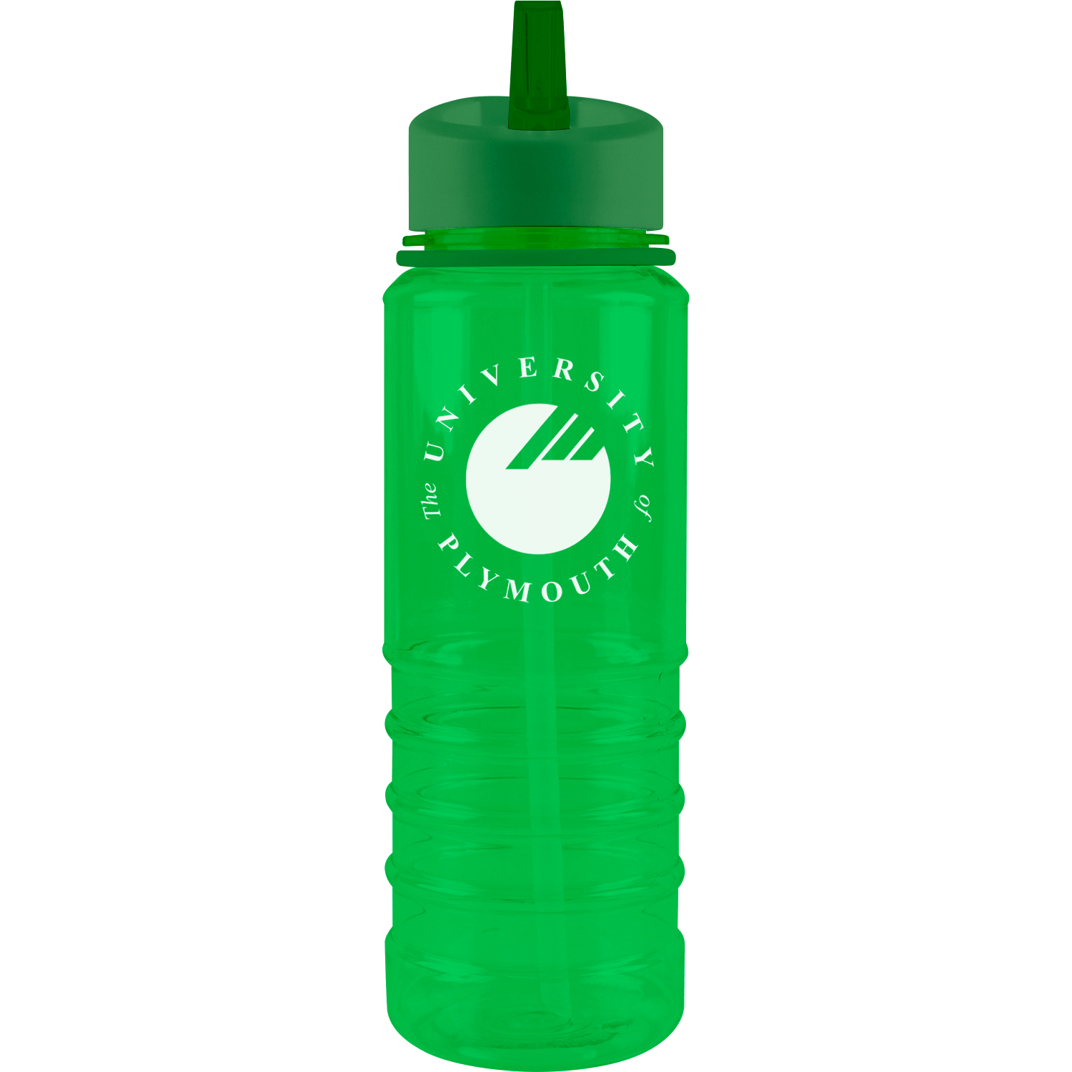 800ml Coloured Sippy Printed Drinks Bottle