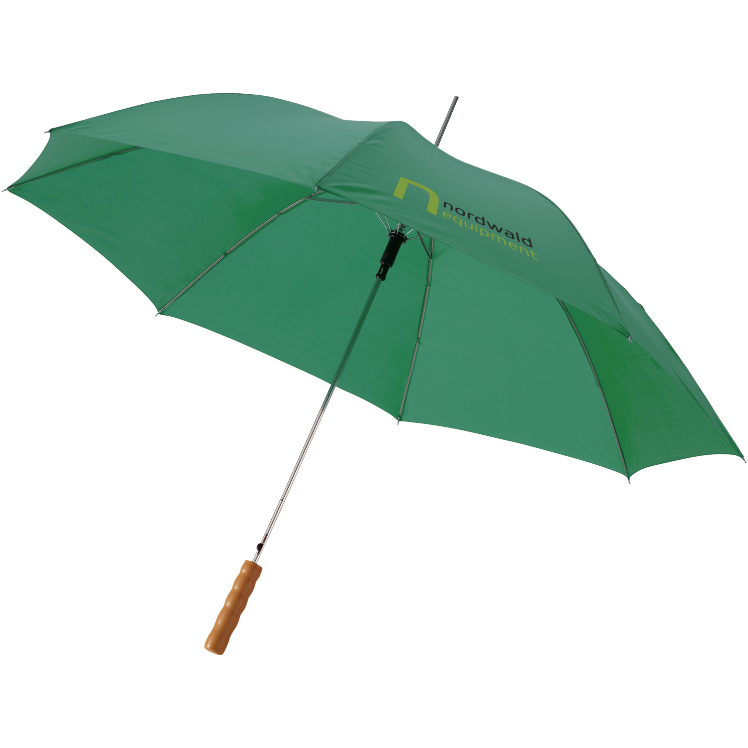 Lisa 23Inch Auto Open Umbrella With Wooden Handle