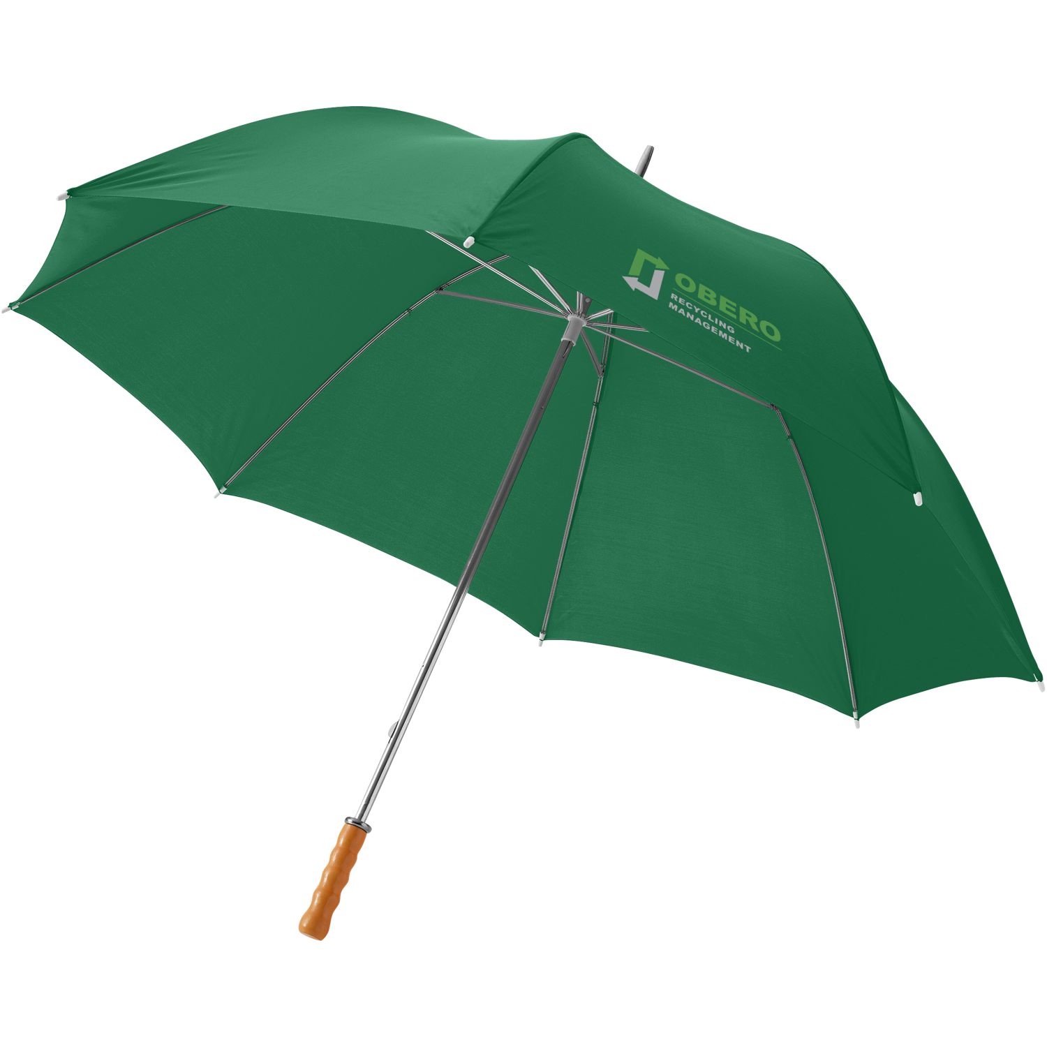 Karl 30Inch Golf Umbrella With Wooden Handle