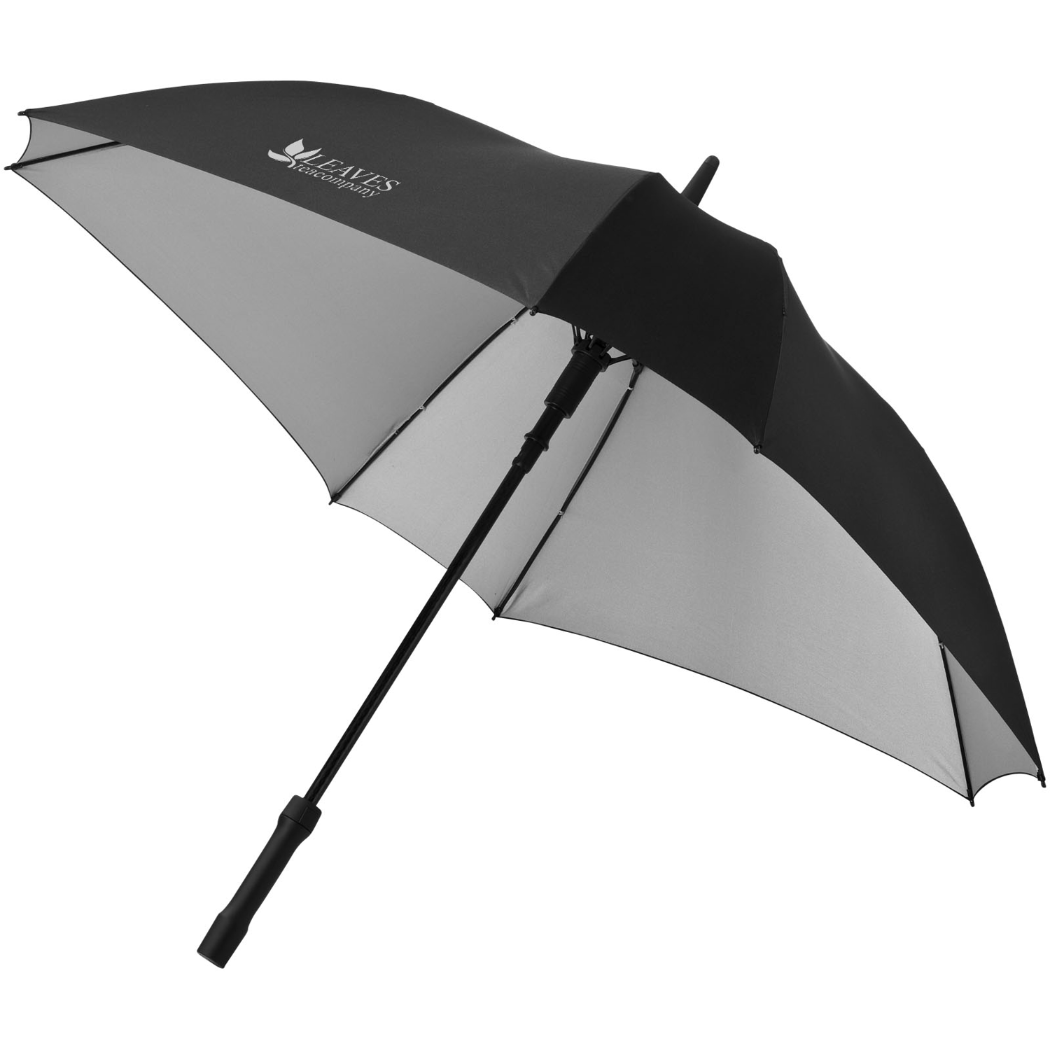 Square 23Inch Double-Layered Auto Open Umbrella