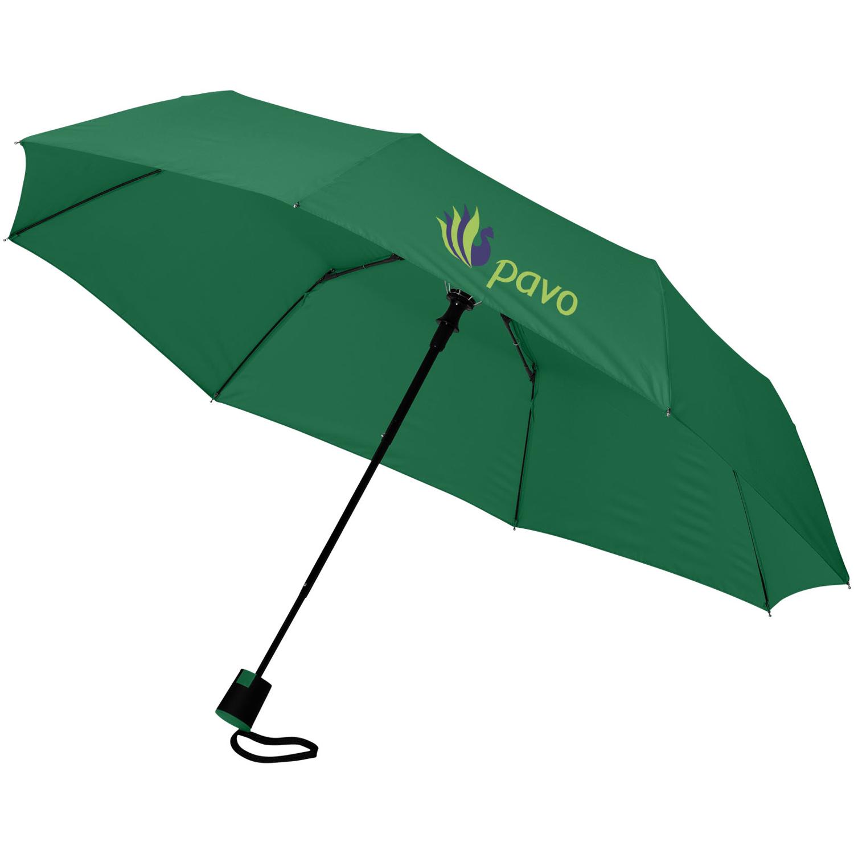 Wali 21Inch Foldable Auto Open Umbrella