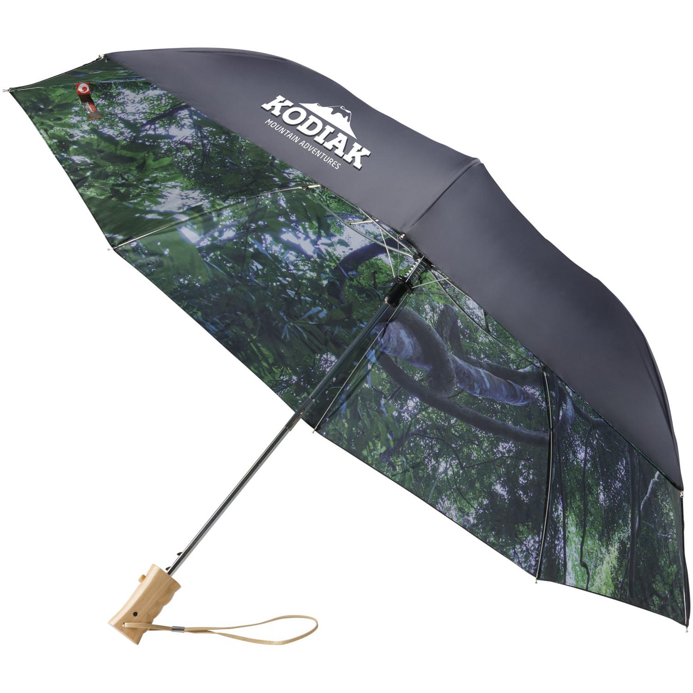 Forest 21Inch Foldable Auto Open Umbrella