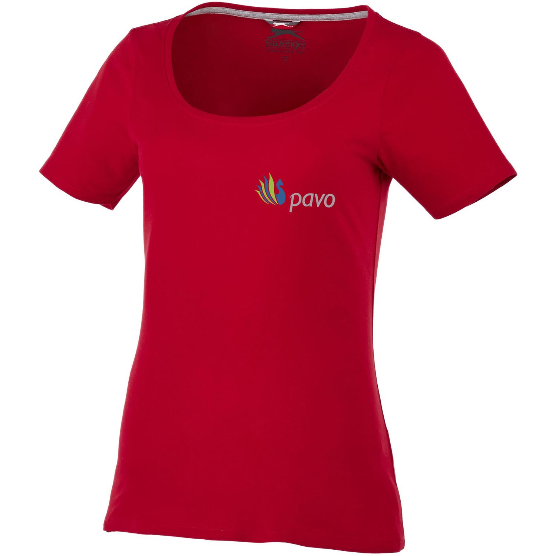 Bosey Short Sleeve Womens Scoop Neck T-Shirt