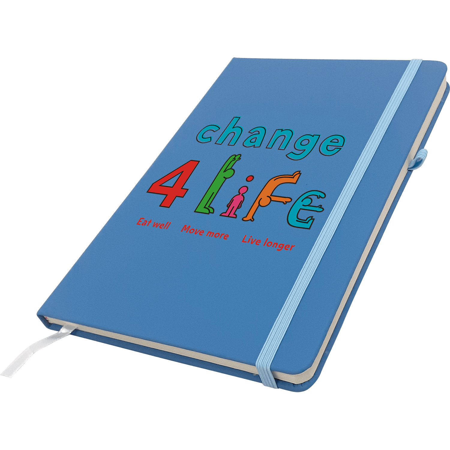 Yes Soft Feel A5 Notebook - Full Colour