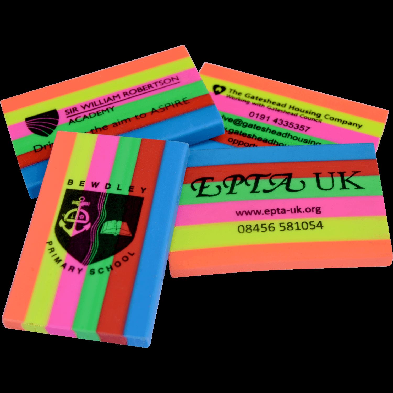 Rainbow Erasers