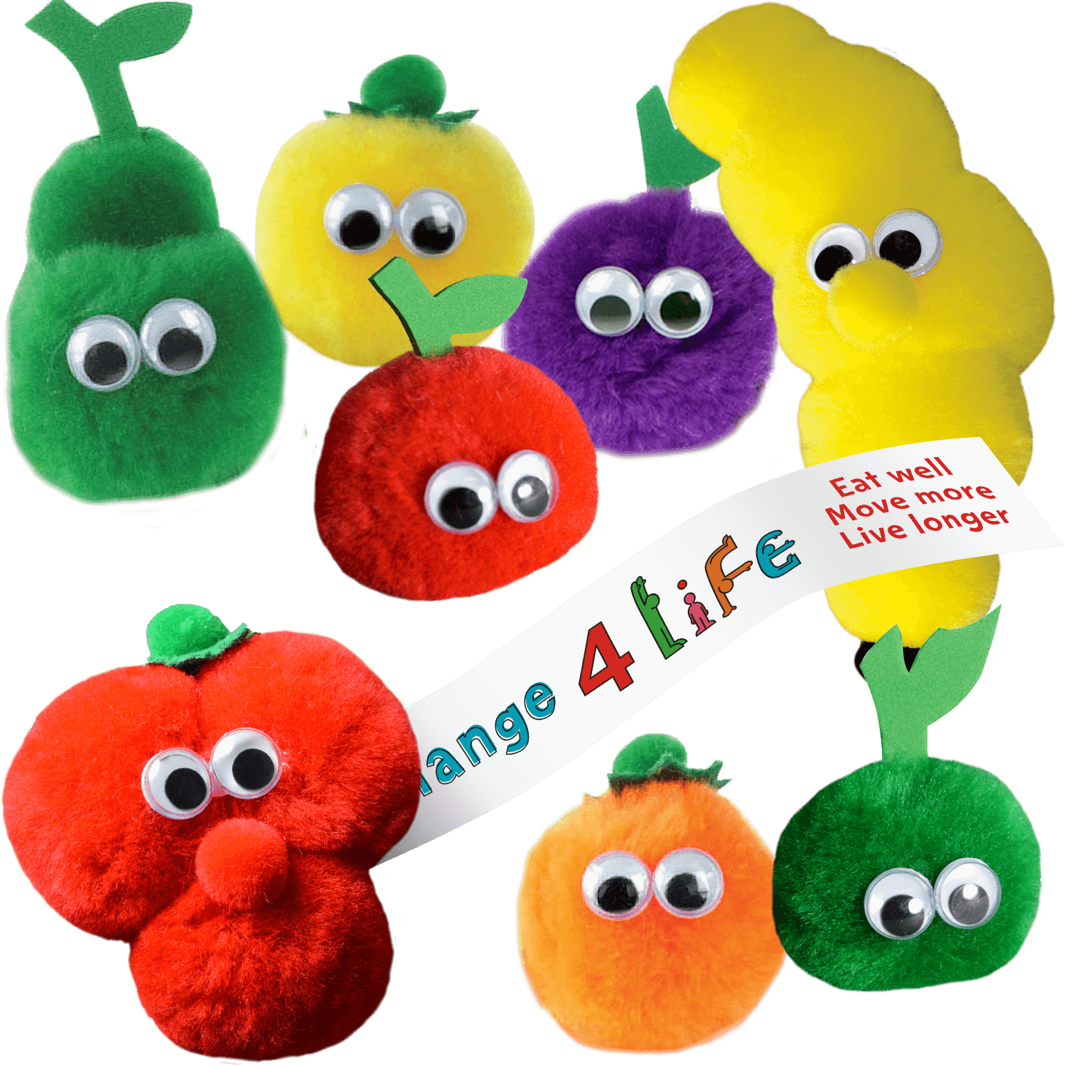 Promotional Fruit and Veg Logobugs