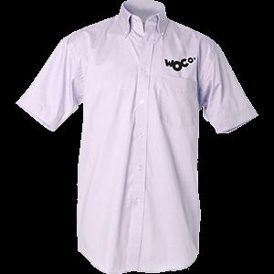 Kustom Kit Short Sleeve Oxford Shirt