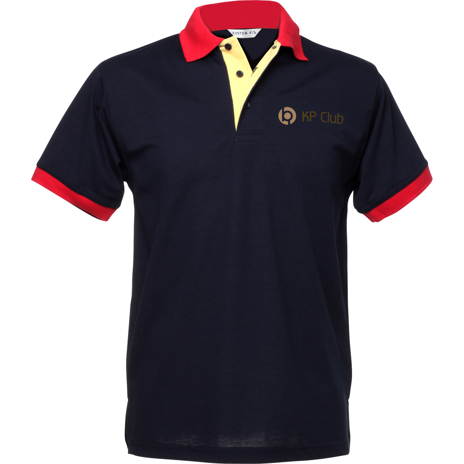 Navy - Yellow - Red