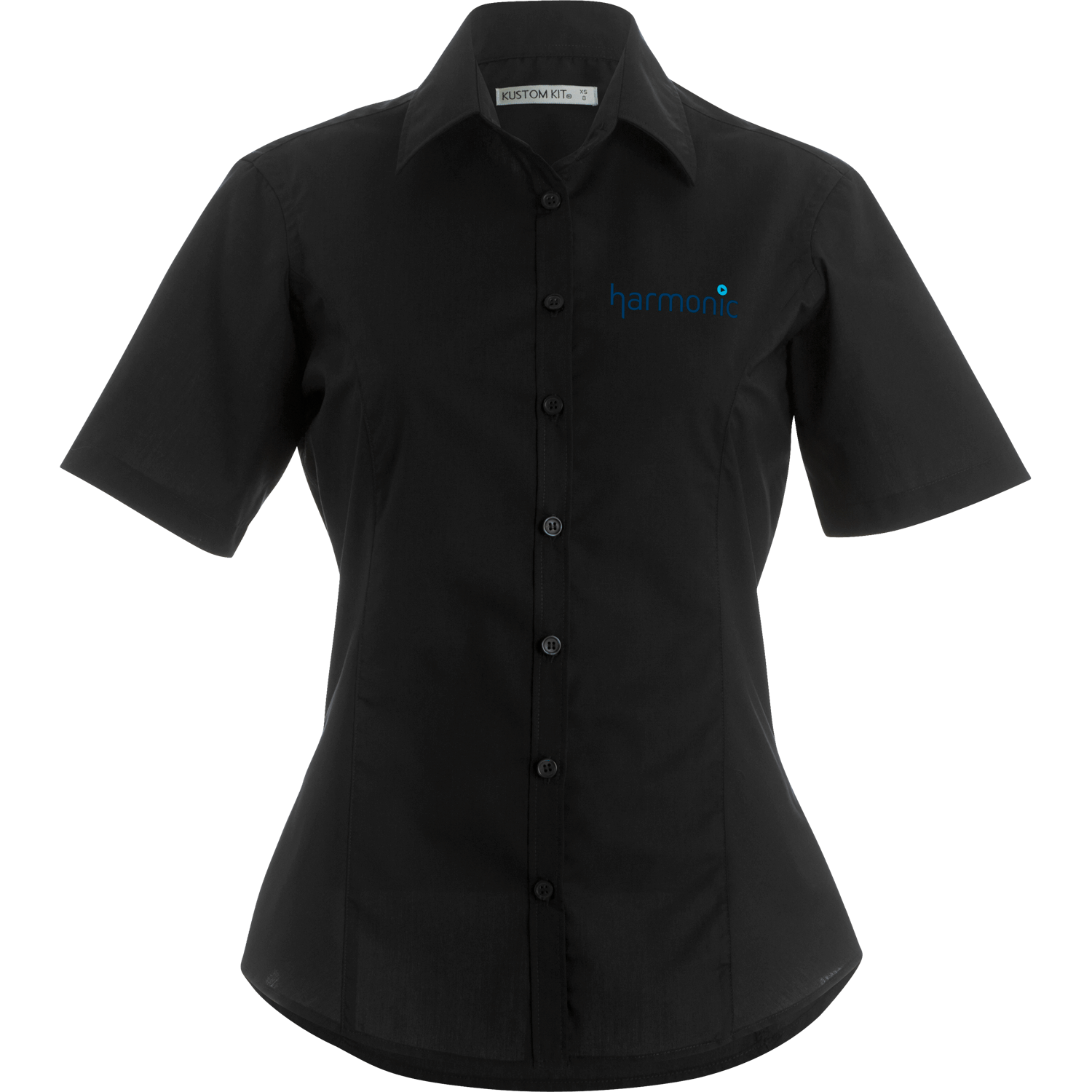 Kustom Kit Lady-Fit Short Sleeve Shirt