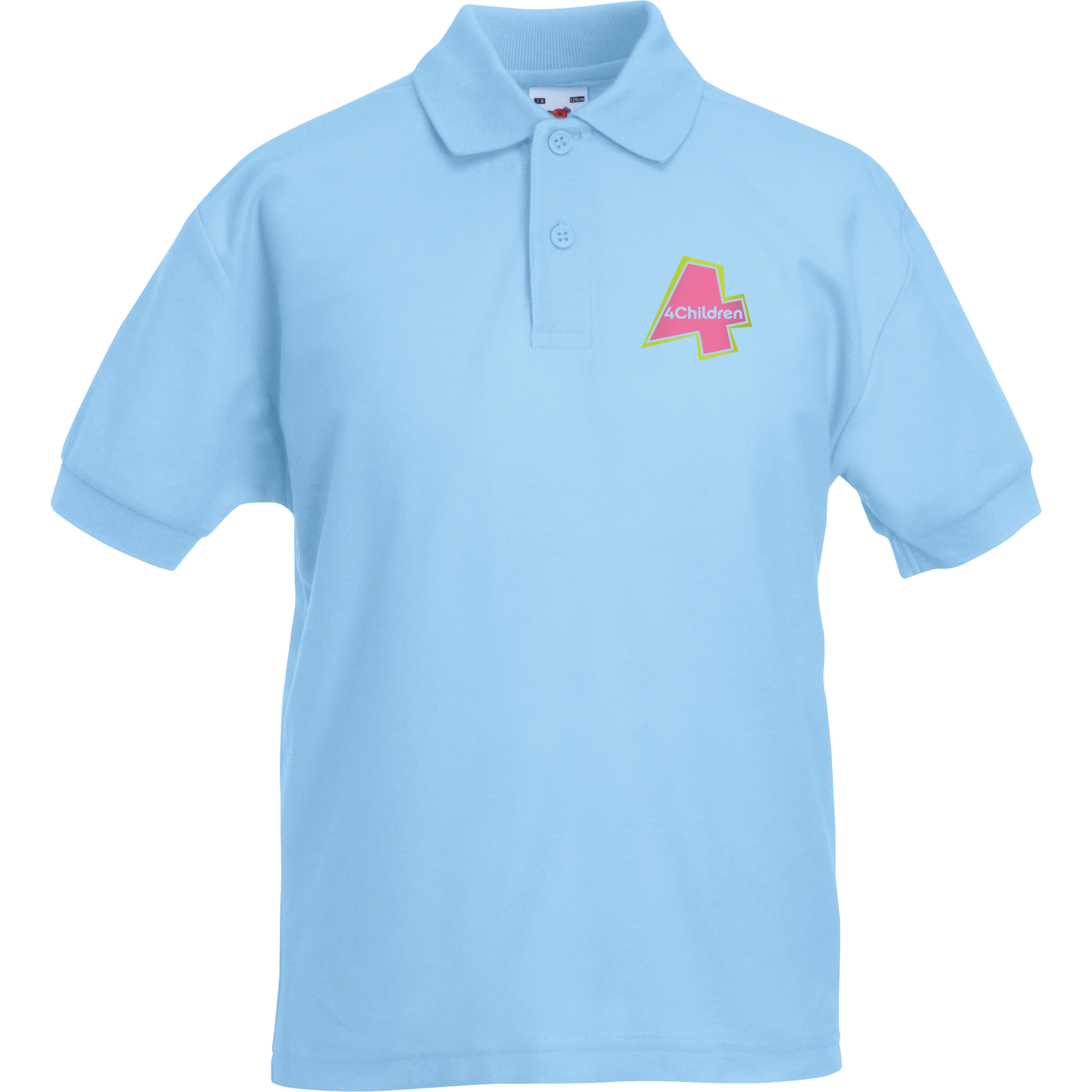 Fruit of the Loom Kids Embroidered Polo Shirts
