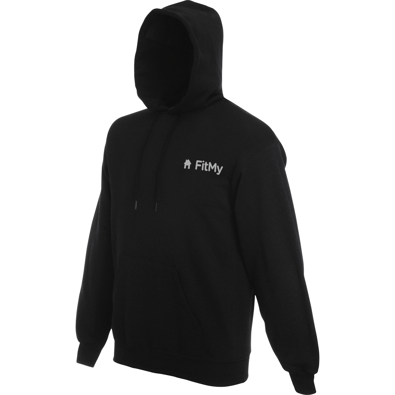 Fruit of the Loom Embroidered Hooded Sweatshirt