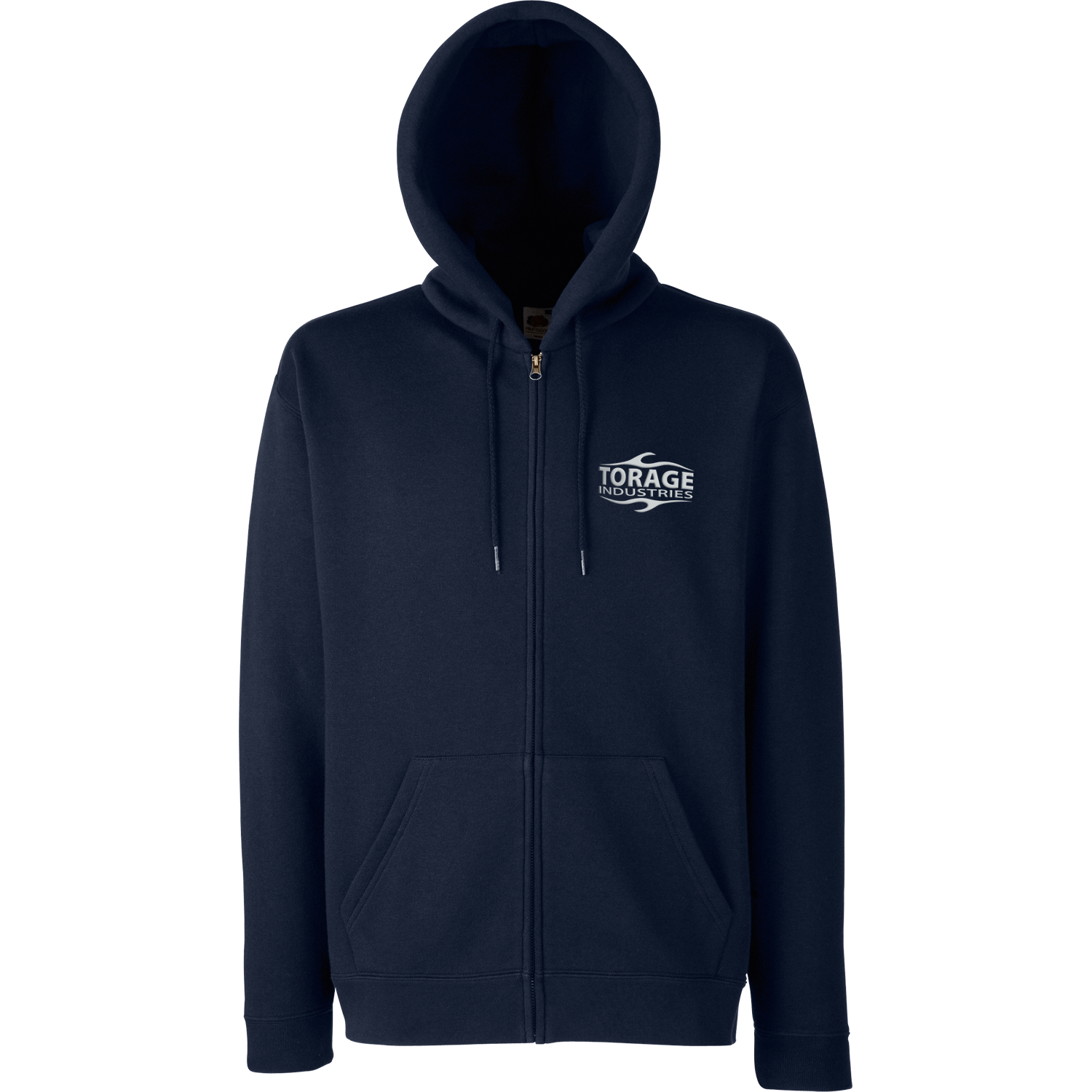 Zip Hooded Sweatshirt