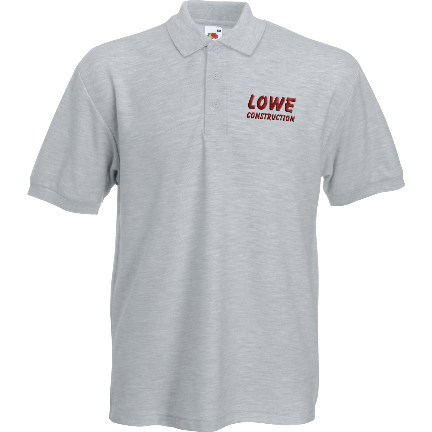 Heavy Duty Embroidered Polo Shirt