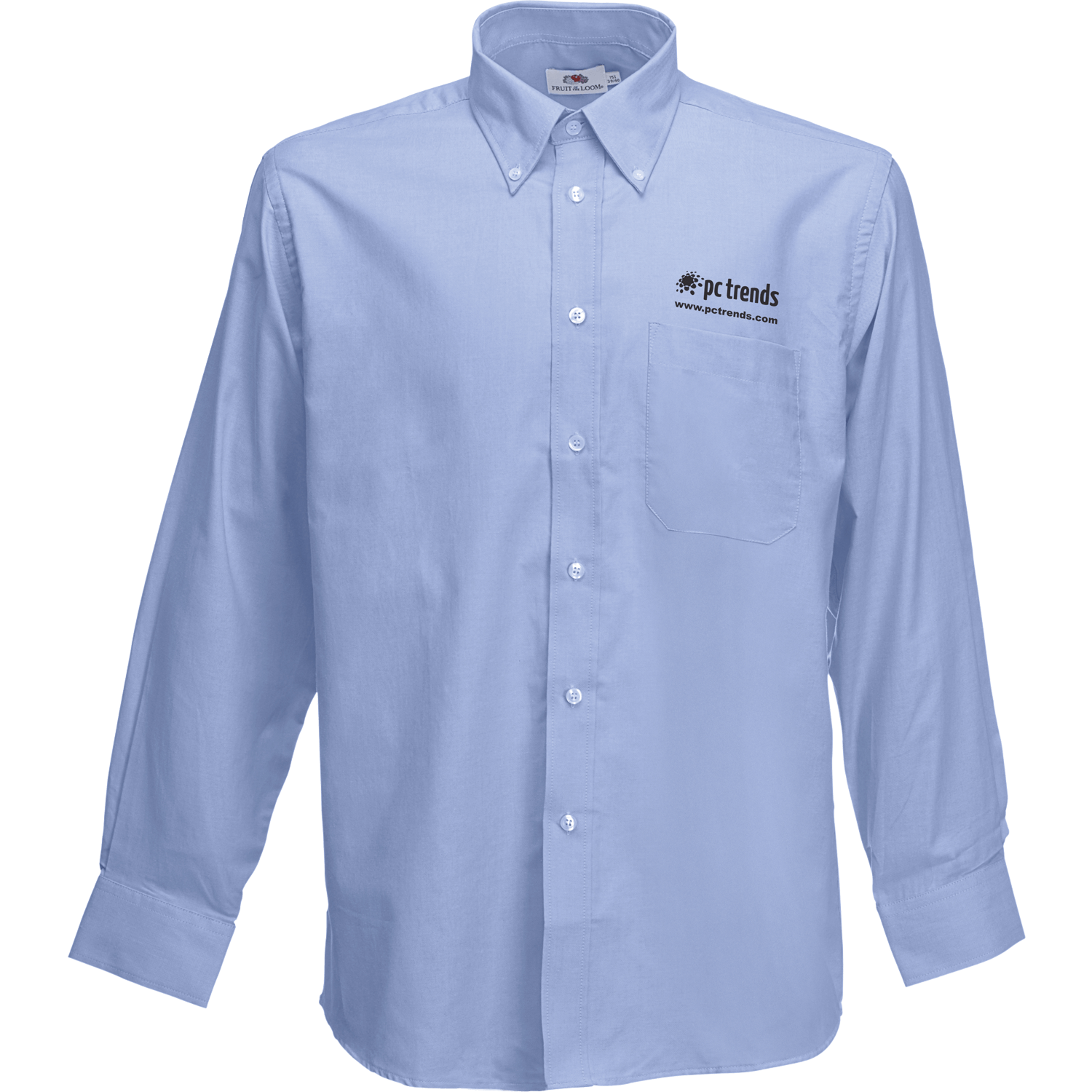 Fruit of the Loom Premium Long Sleeve Oxford Shirt
