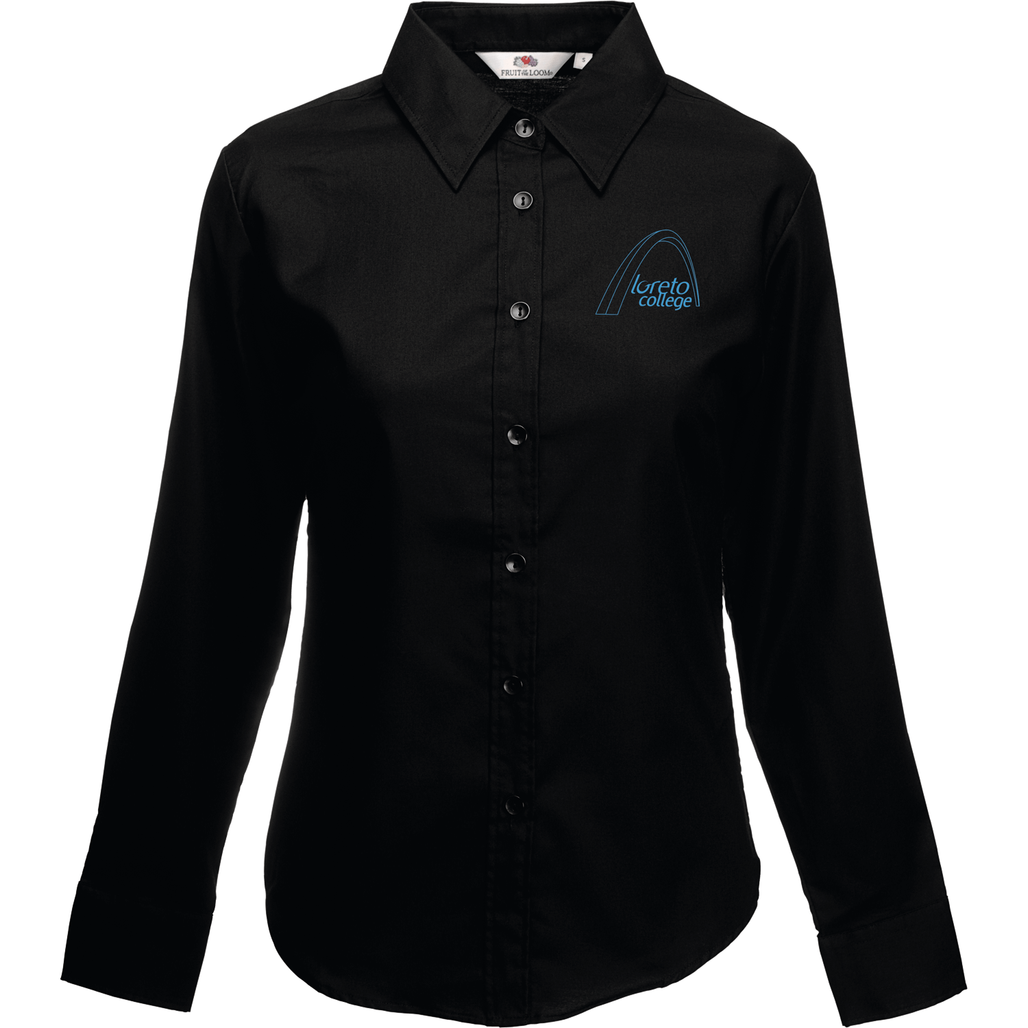 Fruit of the Loom Lady-Fit Premium Long Sleeve Shirt
