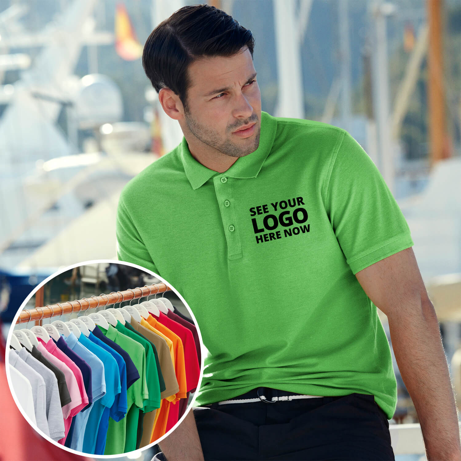 Fruit of the Loom Premium Pique Polo