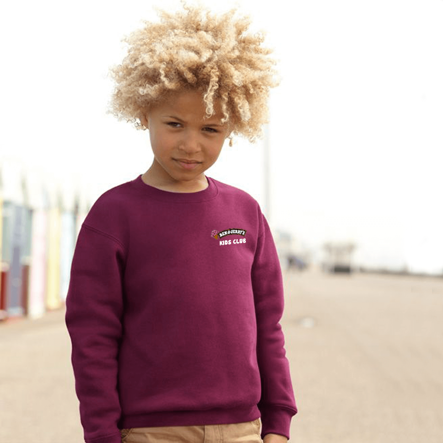 Fruit of the Loom Kids Drop Shoulder Sweatshirt