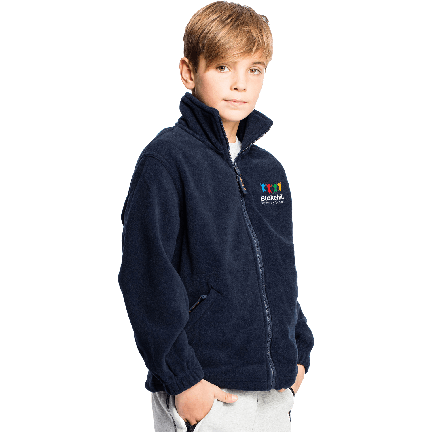 Childrens Uneek Fleece Full Zip